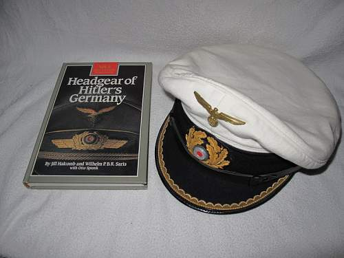 Is it a ww2  Kriegsmarine tellermutze? Please help!