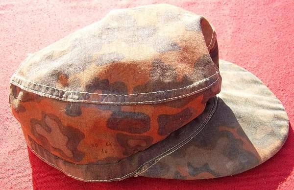Waffen SS camo field cap?