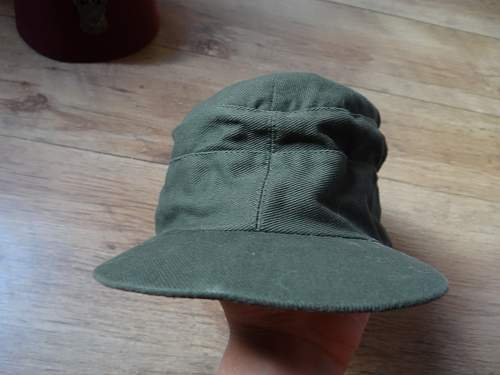 Questionable africa corps cap advice needed