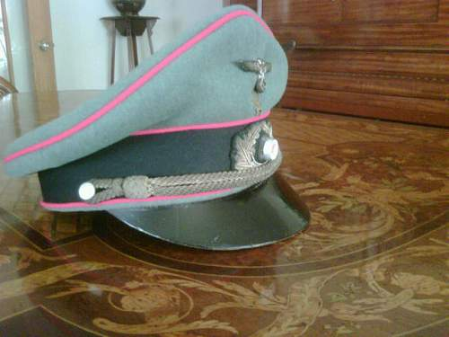 Officers hat-General staff, real or repo?