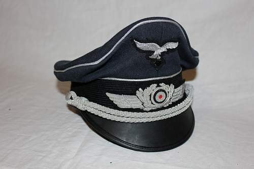 Luftwaffe Officers schirmutze