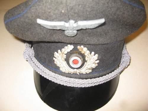 WH Officer Visor cap real or fake???