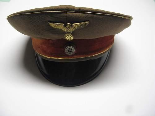 Click image for larger version.  Name:NSDAP Schirmmutze 004.jpg Views:59 Size:40.4 KB ID:250715