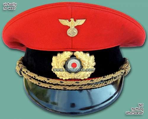 Deutsche reichsbahn high ranking official red cap