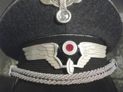 Luftwaffe-Reichsbahn Visor Hat