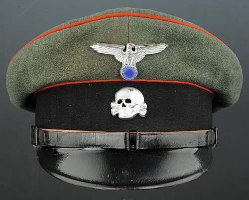 "W-SS ""Artllerie"" EM/NCO visor opinion needed please"