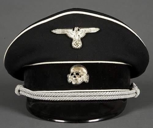 Black SS Visor