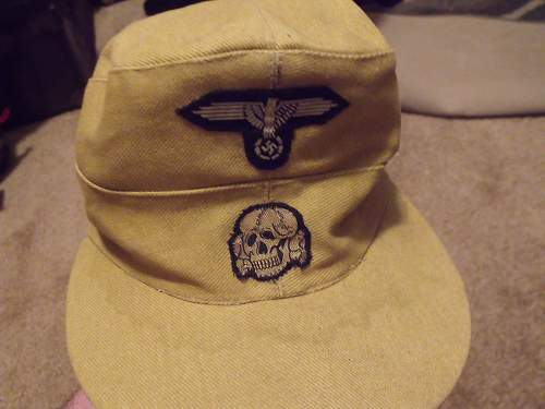 Afrika Tropical Hat with Deathskull - INFO AND HELP