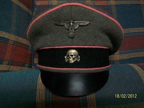 Waffen SS Panzer crusher: real or fake please