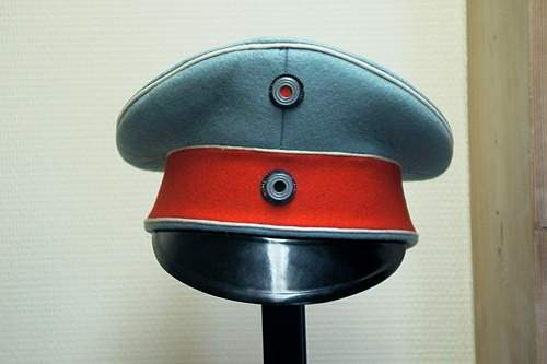 A dubious Imperial cap for review