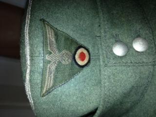 Heer Officers Einheitsfeldmütze ....Real or fake?