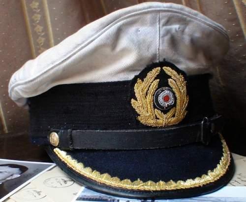 Kriegsmarine Officer's Schirmmütze on eBay
