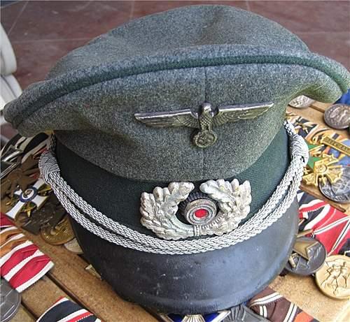 German visor 'real?'