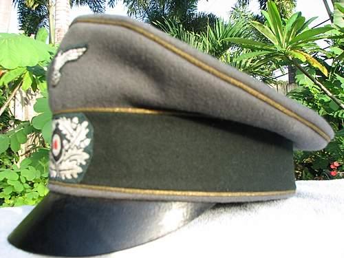"""General's Pre 43 Alte Art / """"Crusher"""" cap"""