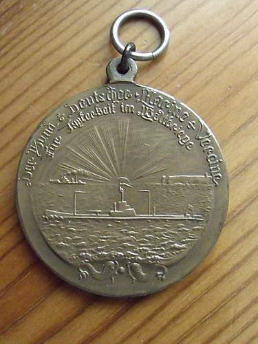 Click image for larger version.  Name:ww1 uboat medal 2.JPG Views:116 Size:185.0 KB ID:380190