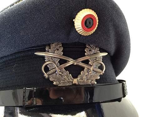 German Visor Cap - What Kind is it?