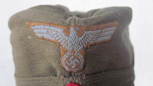 EM/NCO Tropical Overseas Cap Check