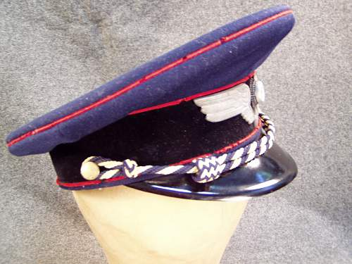 Rail Police visor original?