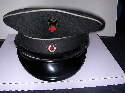 Red Cross EM visor