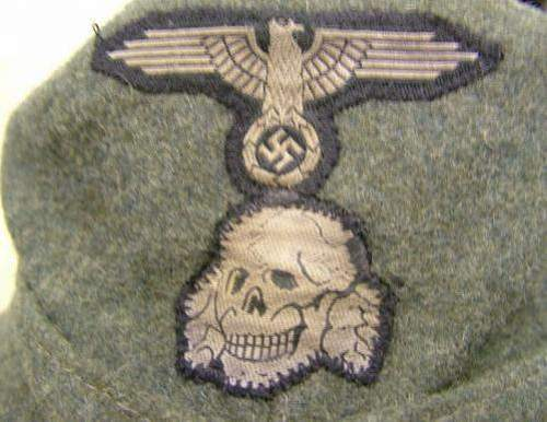 M43 Waffen SS cap for review