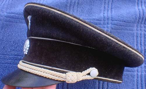 Need Opinions on this Early Algemeine SS Visor...