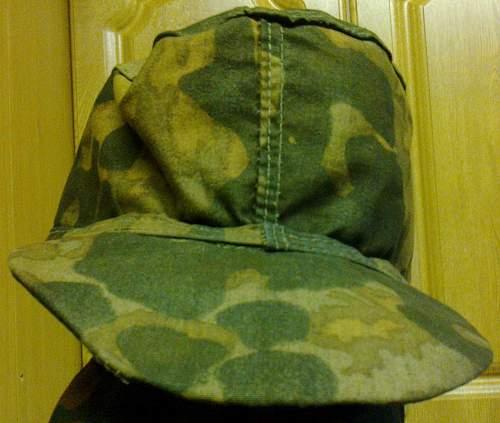 SS camo m43 style cap