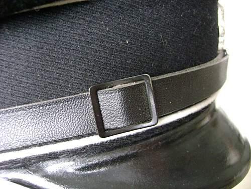 Fewegla Black EM/NCO Visor for Review & Comment