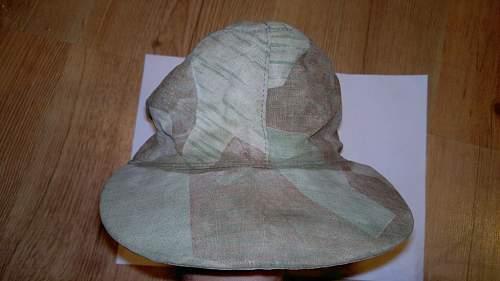 unique ww2 german cap or post war bgs/bw cap?