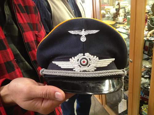 Officer Hats and Medal.. Real or Fake?