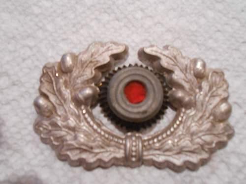 Heer cap wreath & cockade: Authenctic or fake?
