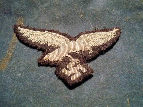 Luftwaffe Officers Schirmmutze insignia