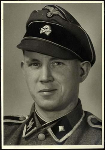 SS KZ Cloth Peaked Cap