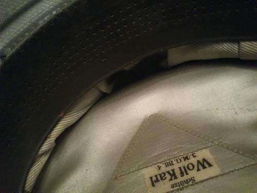 Help about a visor cap.!!!!!