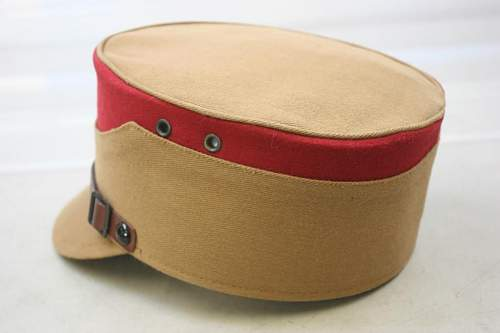 WWII German Can Hat...Thoughts???