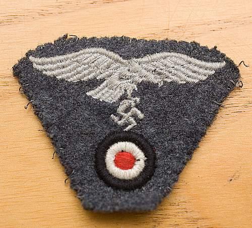 Genuine Luftwaffe cap?