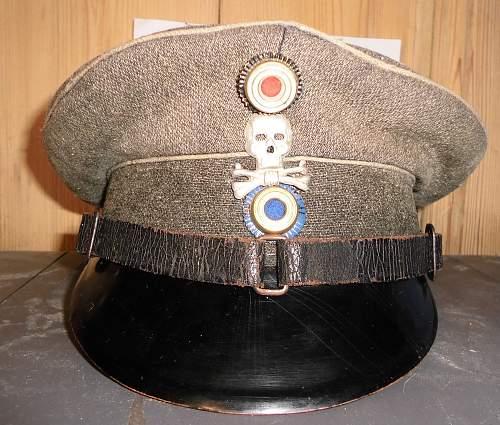 Reichswehr 17 JR  feldmutze ?