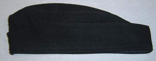 Stripped black SS M34 cap