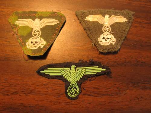 SS Cap Patches