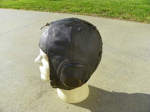 ww2 luftwaffe flying helmets, fakes?