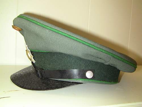 New Here, short intro then a question about my Visor Cap