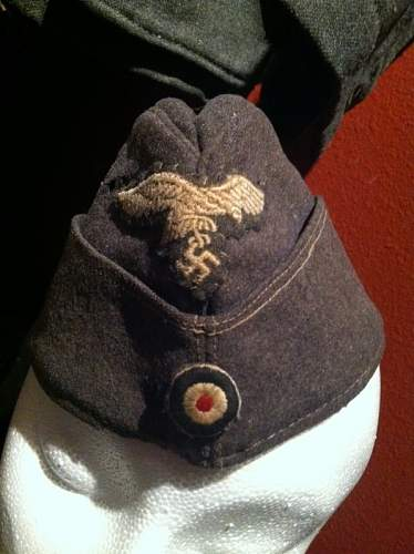 Luftwaffe Overseas enlisted man's cap any opinions