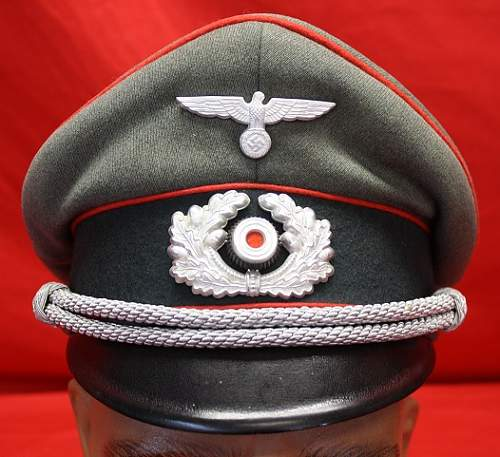 Artillery Officers cap