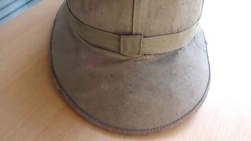 Luftwaffe pith helmet. Original or not ?