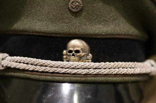 SS KZ Officers Visor