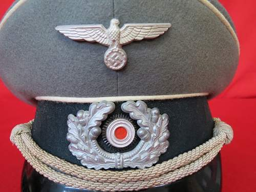Infantry Officer's Visor cap