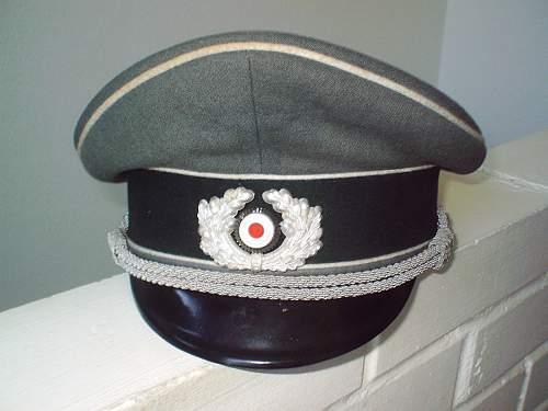 Infantry Officer's Visor cap