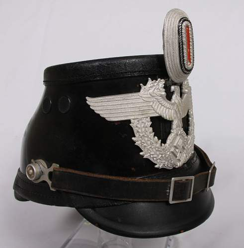 Opinions on Black Police Shako