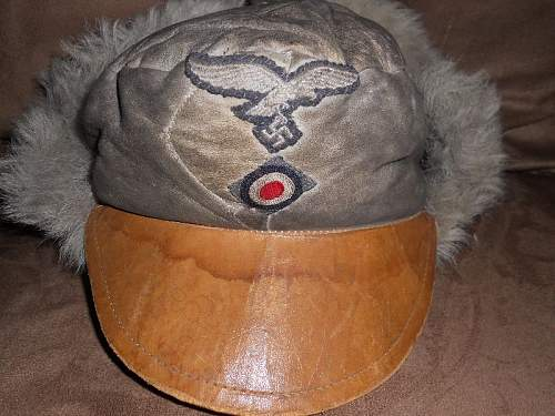 Luftwaffe winter cap