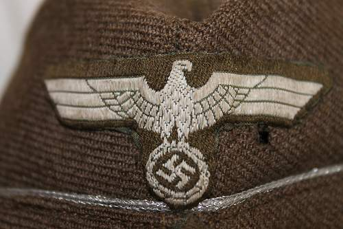 1941 German Side cap?