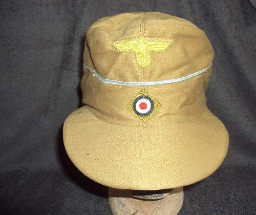 Km tropical m41 officer hat